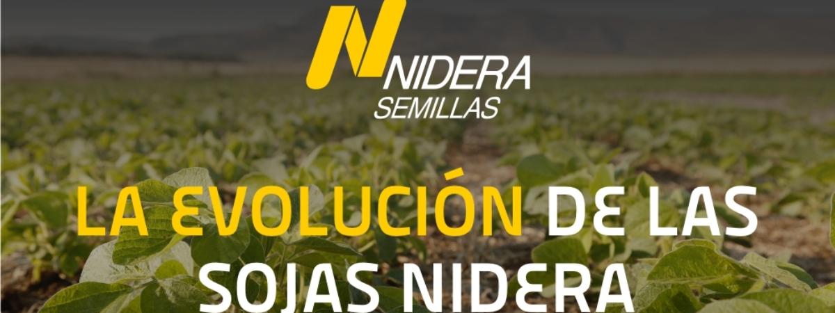 La evolución de las sojas Nidera